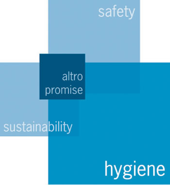 Hygiene is one of the core values of Altro